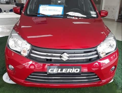 Bán Suzuki Celerio đời 2019, màu đỏ, xe nhập, 329tr