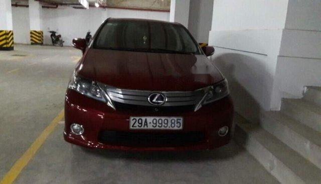 Bán xe Lexus HS 250 sản xuất năm 2011, màu đỏ, nhập khẩu