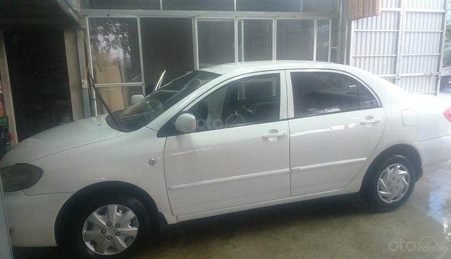 Cần bán Toyota Corolla đời 2003, màu trắng, giá tốt