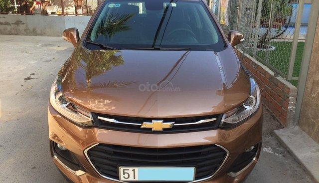 Bán xe Chevrolet Trax 2018 nhập khẩu Hàn Quốc, màu nâu