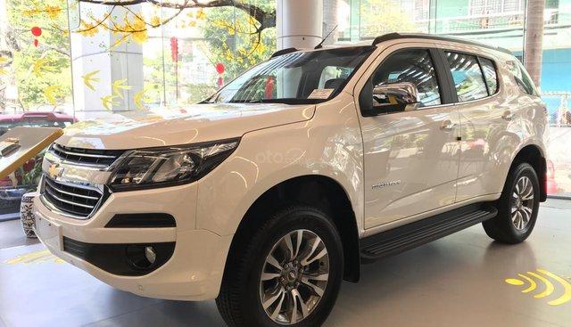 Bán Chevrolet Trailblazer full option (2.5L VGT 2WD) năm sản xuất 2019, màu trắng, nhập khẩu nguyên chiếc
