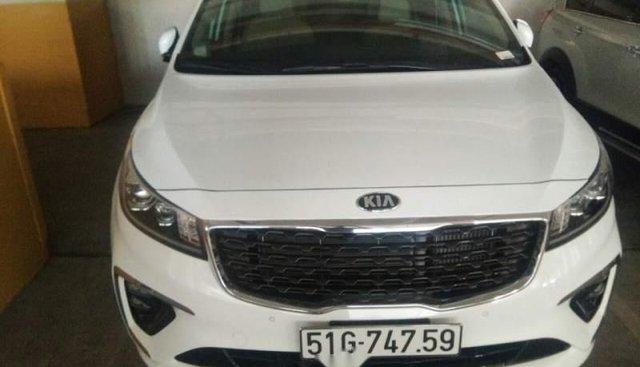 Bán Kia Sedona sản xuất 2018, màu trắng, mới mua tháng 1/2019