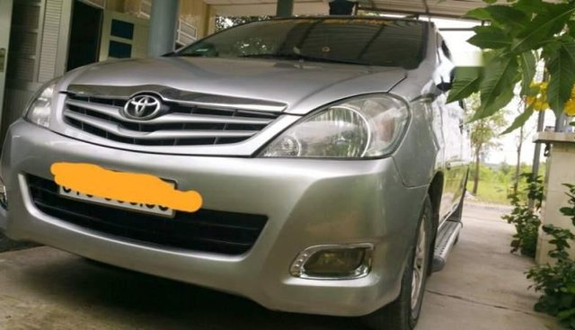 Cần bán lại xe Toyota Innova J năm 2007, màu bạc còn mới, giá cạnh tranh