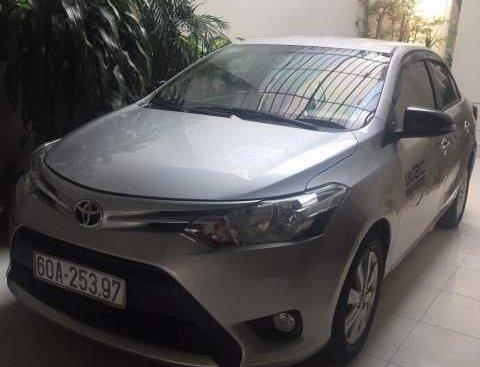 Bán Toyota Vios sản xuất năm 2015, màu bạc, giá 450tr