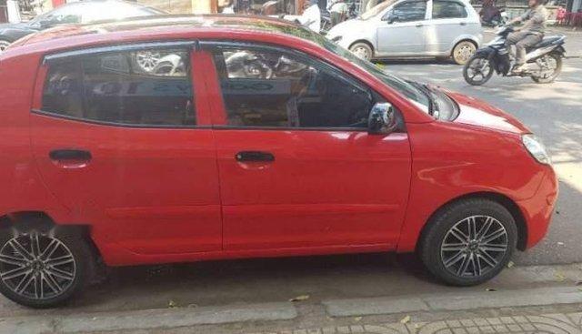 Cần bán xe Kia Morning 2009, màu đỏ, xe đang sử dụng đã qua dịch vụ