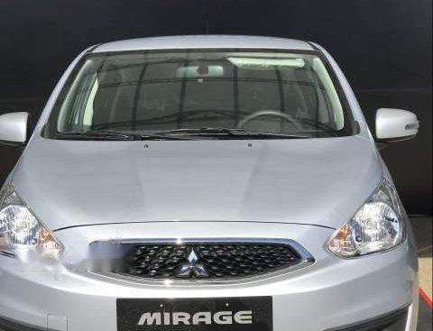 Bán Mitsubishi Mirage MT đời 2019, màu bạc, xe nhập