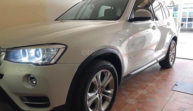 Bán BMW X3 đời 2016, màu trắng, xe bảo hành chính hãng, không trầy xước