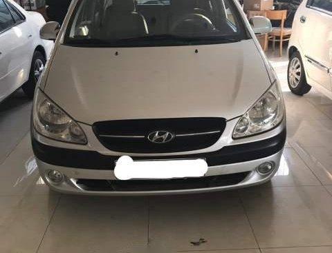 Bán xe Hyundai Getz MT năm sản xuất 2009, màu bạc, nhập khẩu, xe không bị đâm đụng, không bị ngập nước