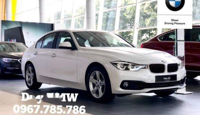 Bán BMW 3 Series 320i năm 2019, màu trắng, nhập khẩu nguyên chiếc