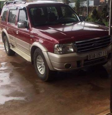 Bán Ford Everest đời 2005, màu đỏ, nhập khẩu