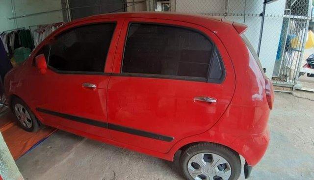Bán ô tô Chevrolet Spark Van đời 2015, màu đỏ ít sử dụng