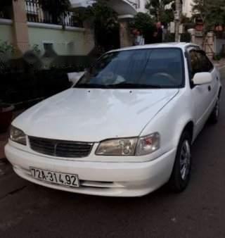 Cần bán xe Toyota Corolla XL 1.3 MT sản xuất 1999, màu trắng