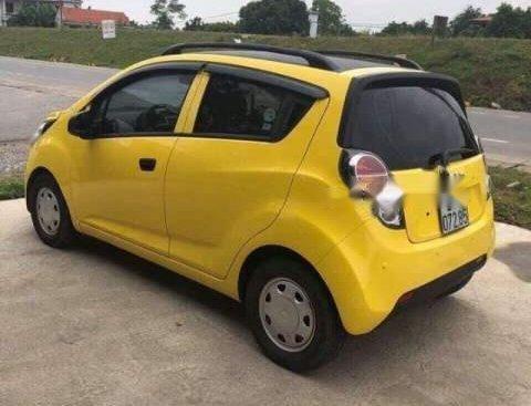 Bán Chevrolet Spark Van đời 2011, màu vàng, xe nhập, số tự động