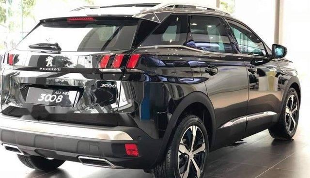 Bán Peugeot 3008 đời 2019, màu đen