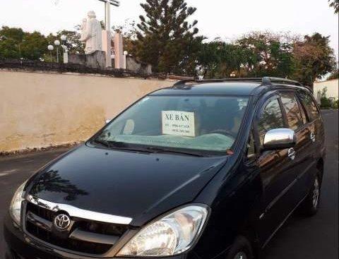 Cần bán xe Toyota Innova đời 2008, màu đen, giá chỉ 340 triệu