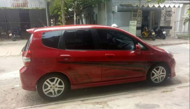 Cần bán Honda FIT 1.5L sản xuất 2008, màu đỏ, xe nhập, giá tốt