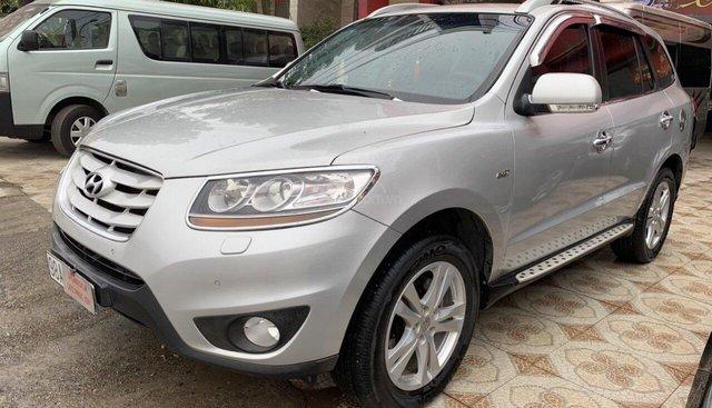 Cần bán Hyundai Santa Fe SLX năm 2009, màu bạc, nhập khẩu nguyên chiếc