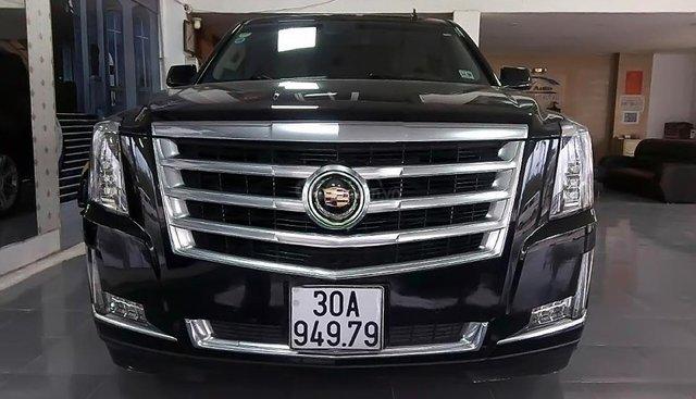 Bán Cadillac Escalade Limited năm 2014, màu đen, xe nhập