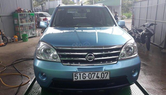 Bán Nissan X trail 2.0 AT đời 2006, màu xanh lam, nhập khẩu