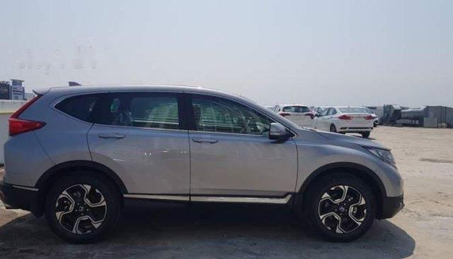 Cần bán lại xe Honda CR V sản xuất 2019, màu bạc, nhập khẩu nguyên chiếc