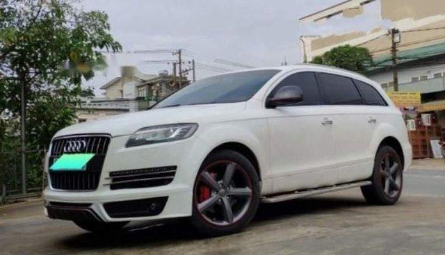 Cần bán Audi Q7 3.6 AT năm 2007, màu trắng, nhập khẩu nguyên chiếc