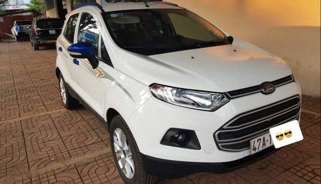 Bán Ford EcoSport sản xuất 2017, màu trắng, giá tốt