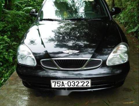 Bán Daewoo Nubira năm sản xuất 2003, màu đen, xe nhập còn mới, 90 triệu