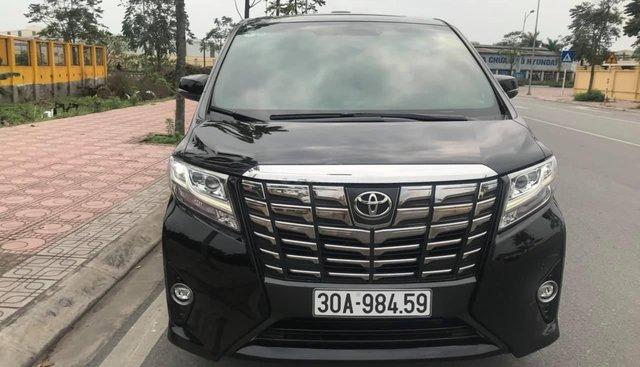 Bán Toyota Alphard đời 2016, màu đen, LH em Hương