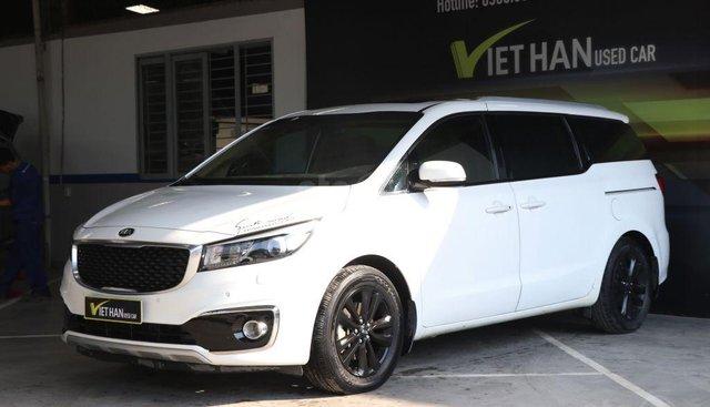 Bán xe Kia Sedona CRDi 2.2AT đời 2016, màu trắng, 998tr
