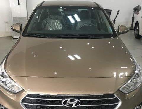 Bán xe Hyundai Accent đời 2019, màu nâu, giá cực tốt