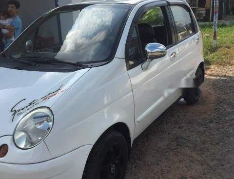 Bán Daewoo Matiz SE 2004, màu trắng, xe gia đình không lỗi nhỏ