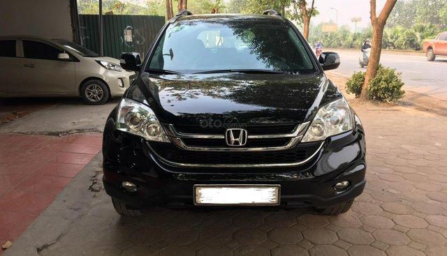 Bán Honda CR V 2.4 AT đời 2011, một chủ từ đầu biển 4 số