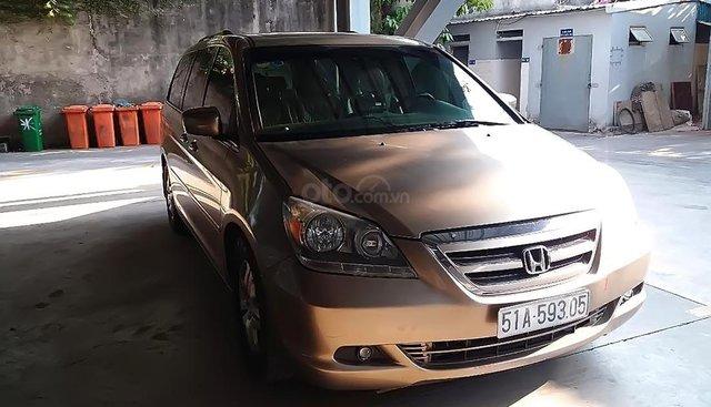 Bán Honda Odyssey 3.5 AT năm 2007, màu nâu, xe nhập ít sử dụng