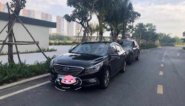Cần bán Hyundai Sonata đời 2015, màu đen, nhập khẩu nguyên chiếc