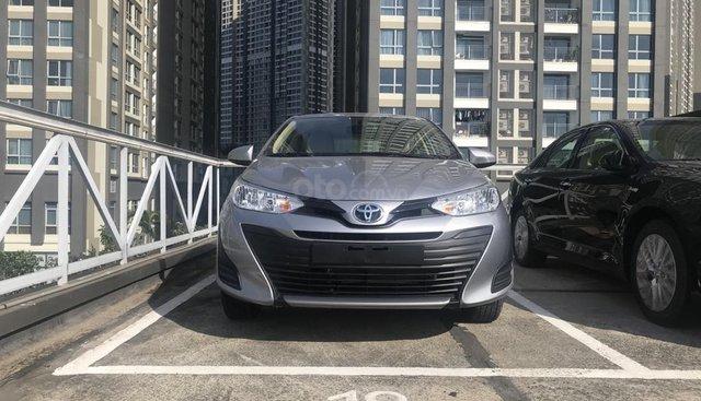 Bán Toyota Vios 2019, xe mới 100%, thanh toán 170tr nhận xe ngay, lãi suất chỉ 0.58%