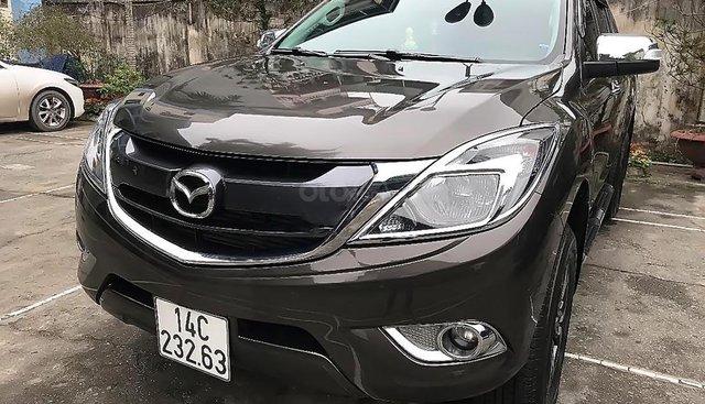 Bán ô tô Mazda BT 50 2.2 AT 4x2 năm 2017, màu nâu, nhập khẩu