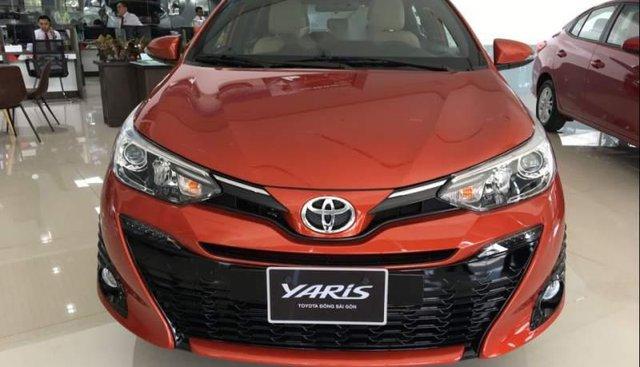 Bán Toyota Yaris 1.5G 2018, nhập khẩu Thái, ưu đãi hấp dẫn