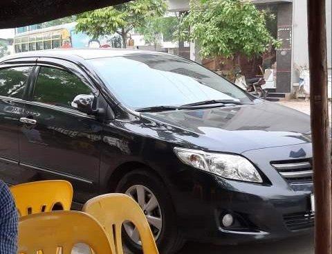 Bán Toyota Corolla altis đời 2009, màu đen