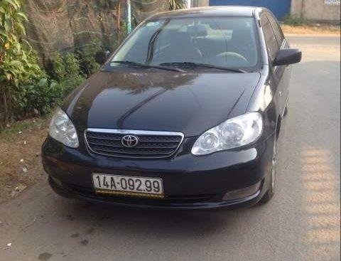 Chính chủ bán Toyota Corolla Altis sản xuất 2003, màu đen, nhập khẩu