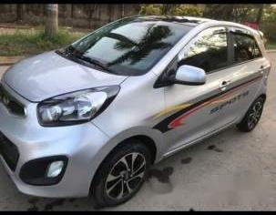 Cần bán Kia Morning MT sản xuất năm 2014, màu bạc, xe mới làm đăng kiểm