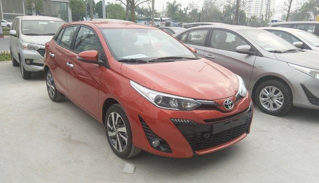 Bán ô tô Toyota Yaris năm sản xuất 2019, màu cam, nhập khẩu