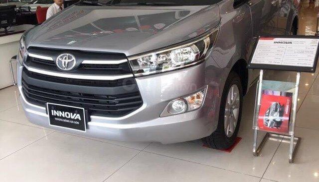 Innova số sàn tặng bảo hiểm, gói phụ kiện trị giá 50tr, trả trước từ 160 triệu nhận xe ngay tại Toyota Gò Vấp