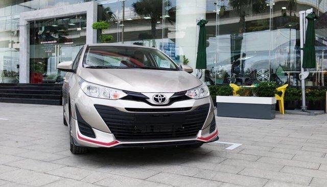 Toyota Vios 1.5E trả trước từ 120tr, giao ngay đủ màu tại Toyota Gò Vấp