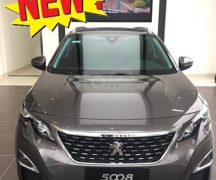 Cần bán xe Peugeot 5008 2019 1.6L Turbo tăng áp, màu xám, khuyến mãi hấp dẫn chỉ duy nhất trong tháng