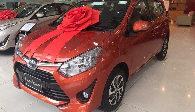 Bán Toyota Wigo 1.2MT & AT đời 2019, đủ màu nhập khẩu, giao ngay