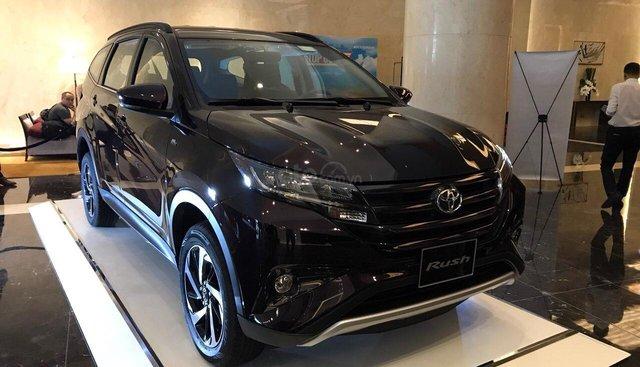 Bán Toyota Rush 1.5AT đời 2019, xe nhập, giao ngay giá chỉ 668 triệu tại Toyota Gò Vấp