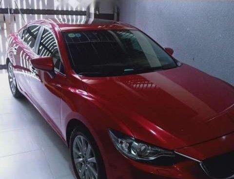 Cần bán lại xe Mazda 6 năm sản xuất 2016, màu đỏ, xe nhà sử dụng rất kĩ còn zin