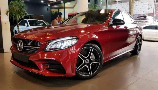 Bán Mercedes C300 2019, màu đỏ. Ưu đãi hấp dẫn