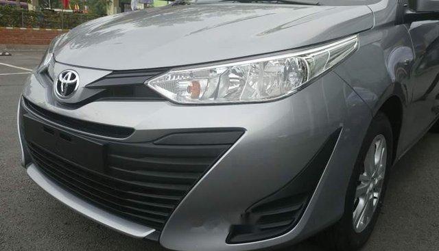 Bán xe Toyota Vios năm sản xuất 2019, màu bạc, giá tốt