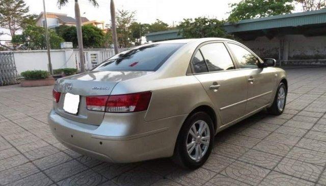 Cần bán Hyundai Sonata sản xuất năm 2009, màu vàng, nhập khẩu, giá chỉ 336 triệu